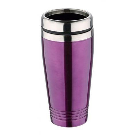 Thermal stainless steel 425ml, violet