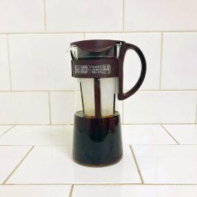 Kávovar na studenú kávu...