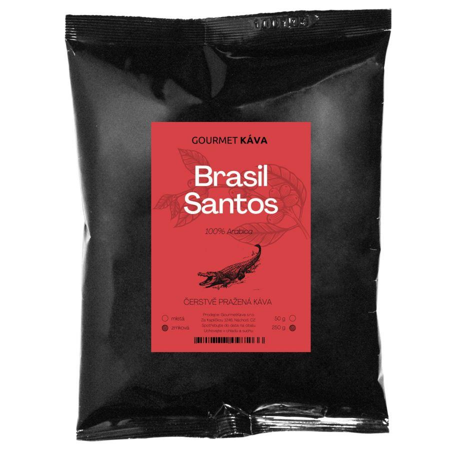 Brazília: Santos, zrnková káva arabica