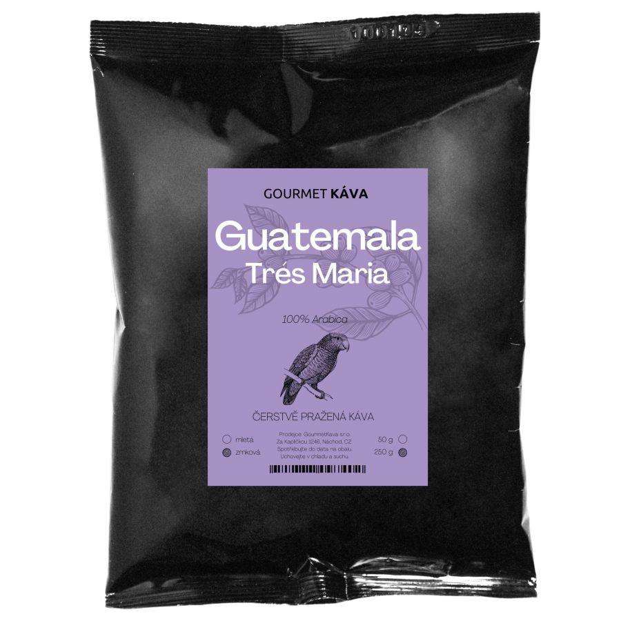 Guatemala Trés Maria, zrnková káva arabica