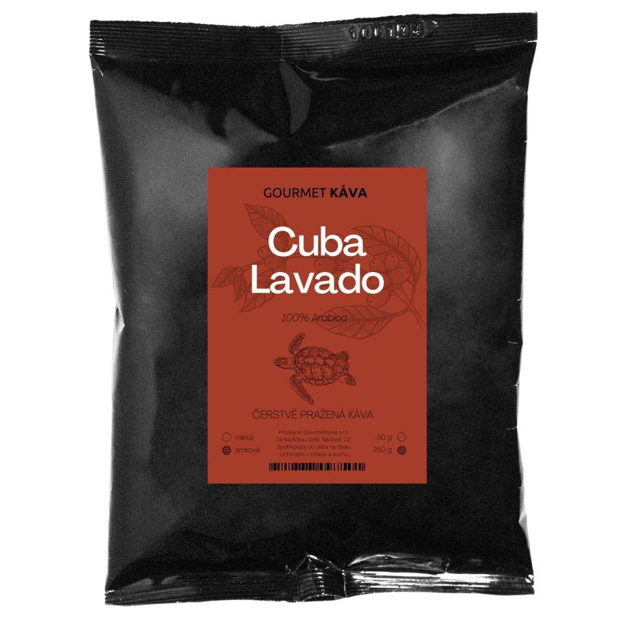 Kuba Lavado, zrnková káva arabica