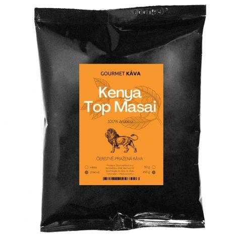 Keňa Top Masai, zrnková káva arabica