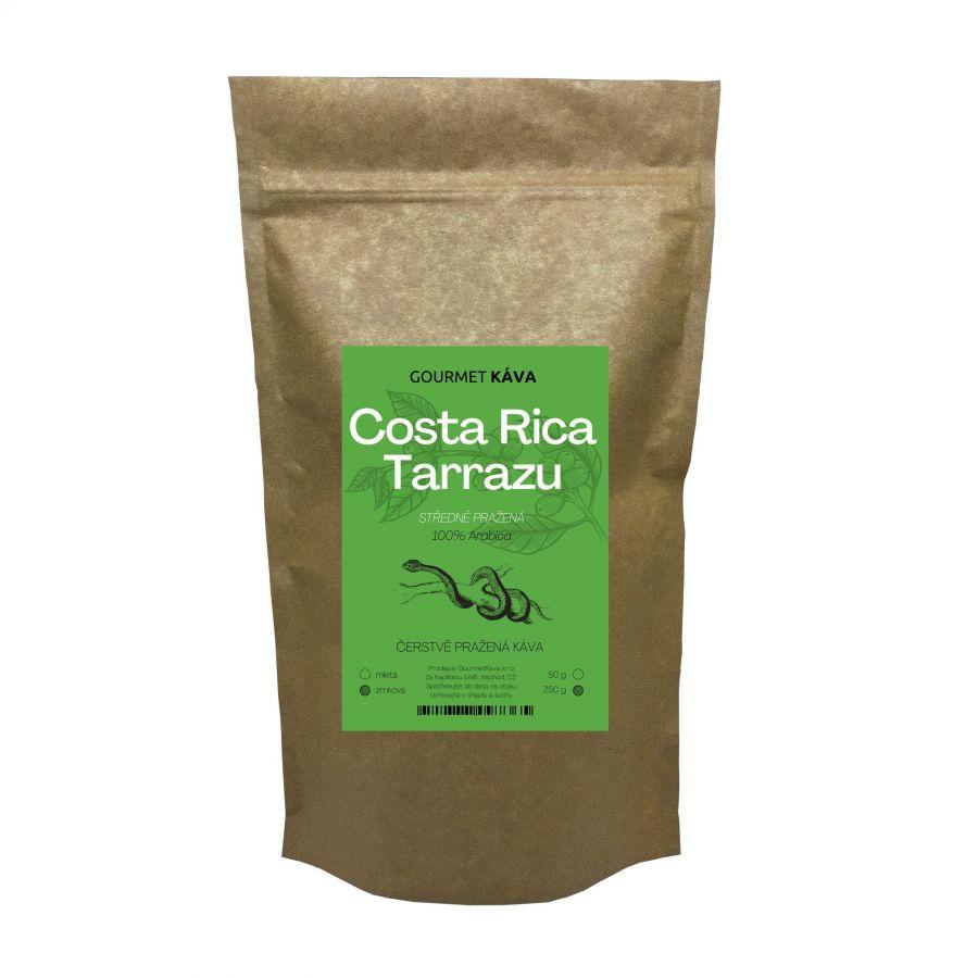 Kostarika: Tarrazu, zrnková káva arabica, STREDNE PRAŽENÁ