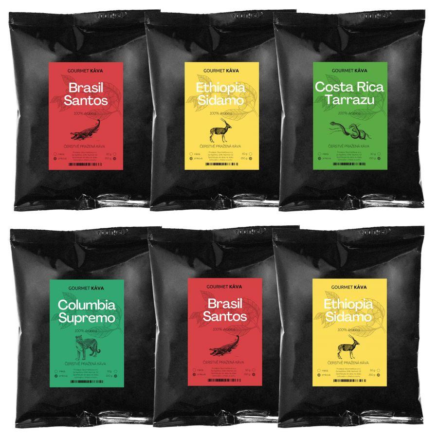 Předplatné kávy od GourmetKáva