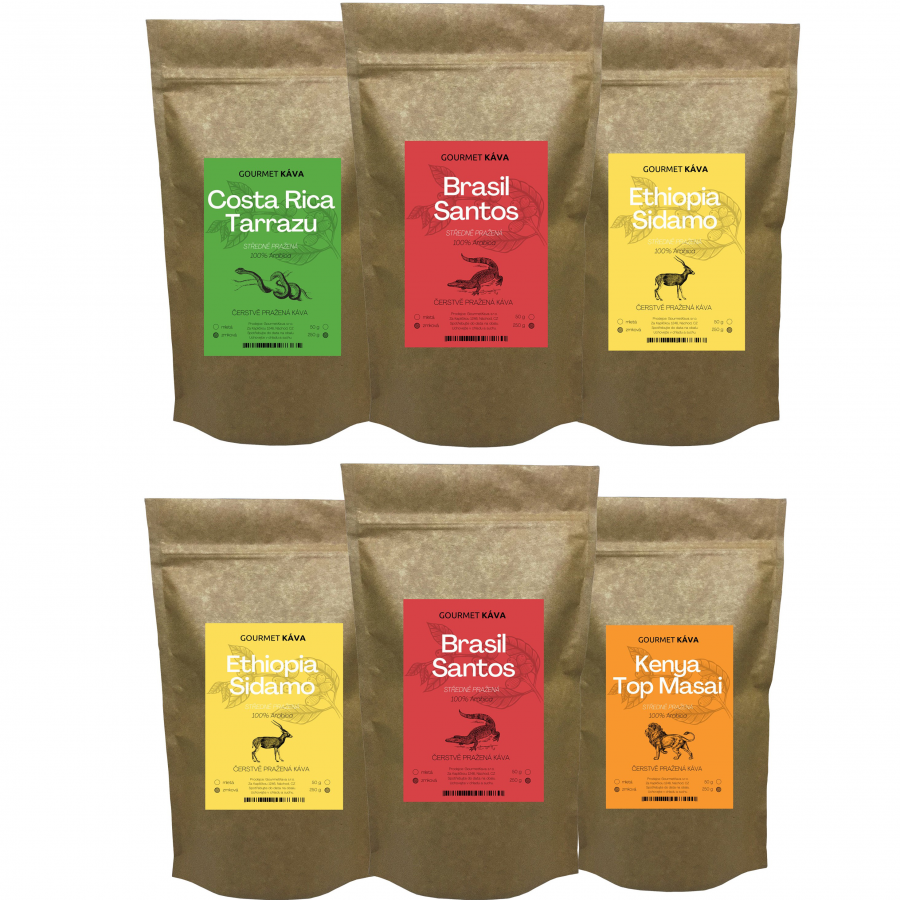 Coffee filter subscription from GourmetCoffee - medium roasted