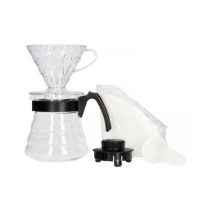 Hario V60 Pour over Kit készlet (fekete)