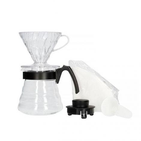 Hario V60 Pour over Kit (black)
