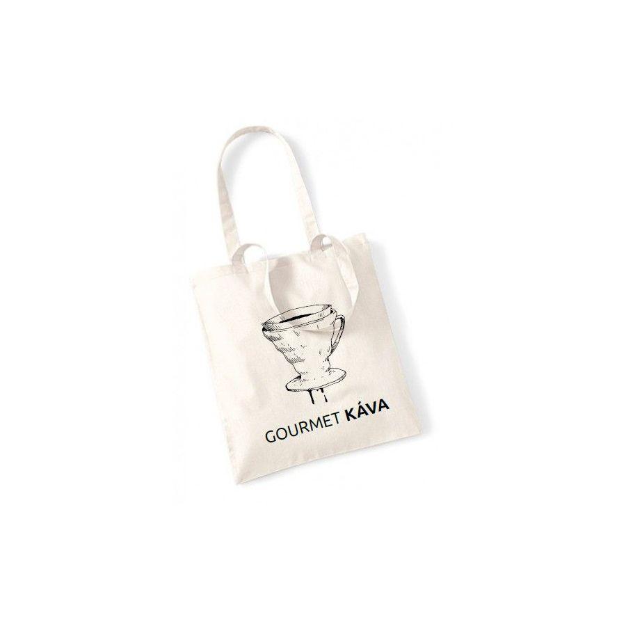 Plátená taška - dripper