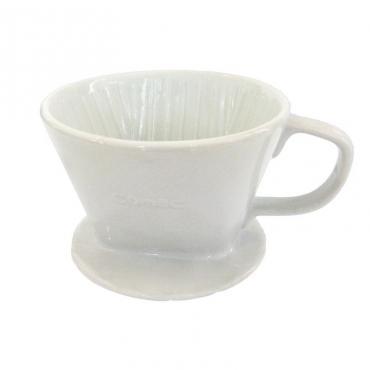 Kerámia csepegtető Kaffia 2-4 fehér csészék