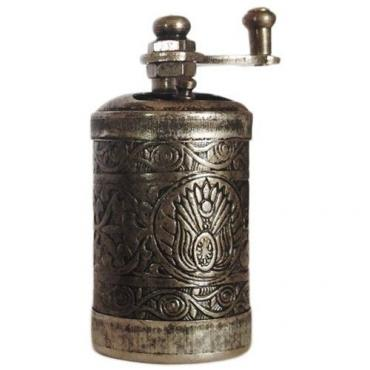 Pepper mill (antique silver)