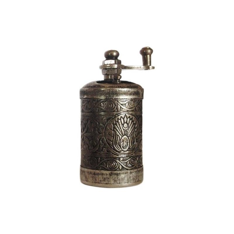 Mlýnek na pepř (antik stříbro)
