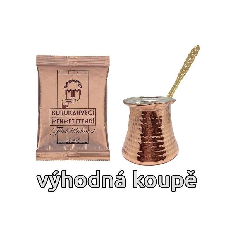 Cezve + török kávé 100g (Efendi)