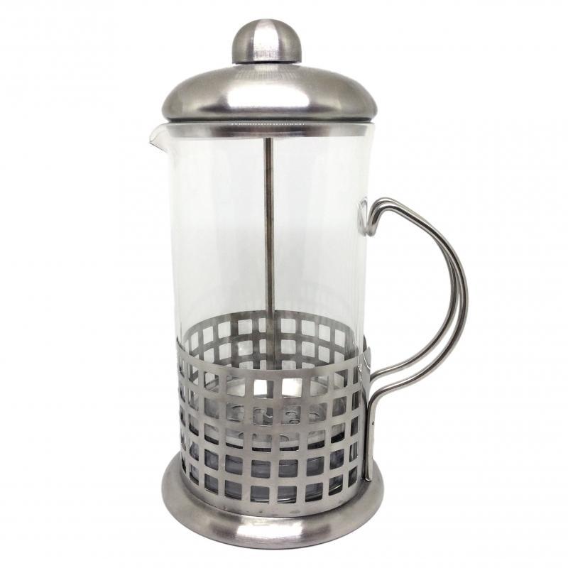 French press 600ml Kaffia Gourmet stainless steel