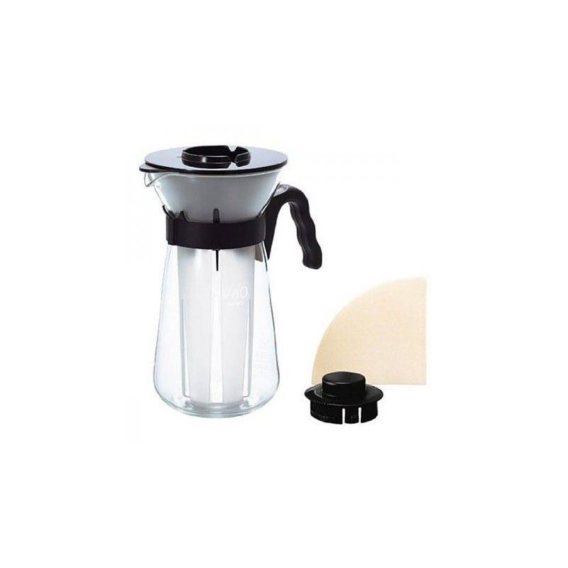 Hario V60 Fretta Ice Coffee Maker - Ice Cream Preparation Kit