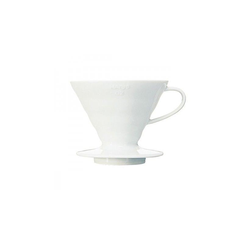 Hario dripper V60-02 ceramic - white (VDC-02W)