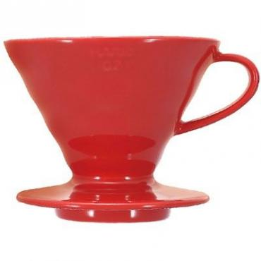 Hario dripper V60-02 ceramic - red (VDC-02R)
