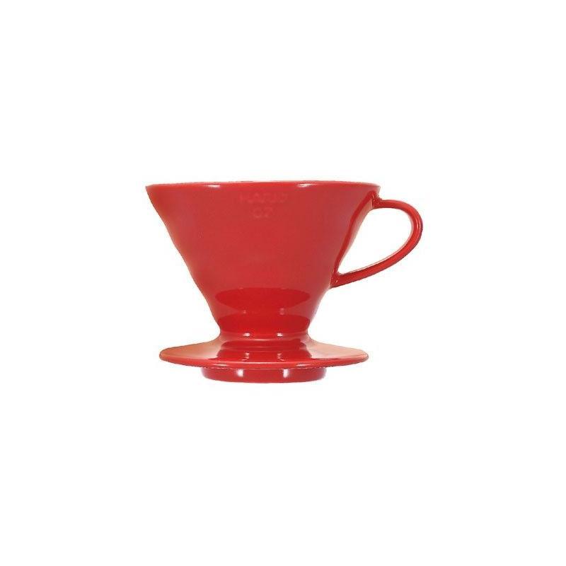 Hario dripper V60-02 keramický - červený (VDC-02R)