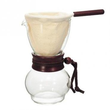 Hario Woodneck DPW-1 Drip Pot for 2 cups