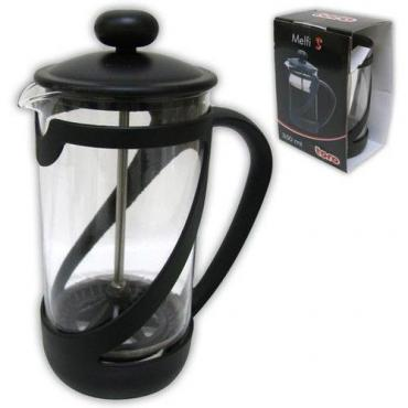French press 350ml-es vízforraló (fekete)
