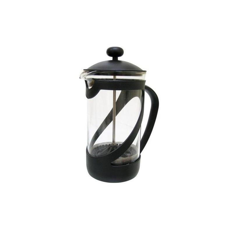 French press 600ml kettle (black)