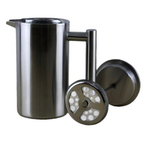French press 350ml Kaffia - ezüst