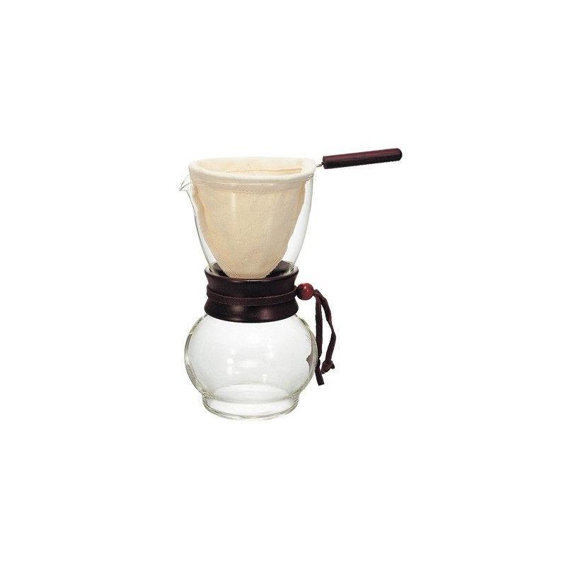 Hario Woodneck DPW-3 Drip Pot 4 csésze kávéhoz