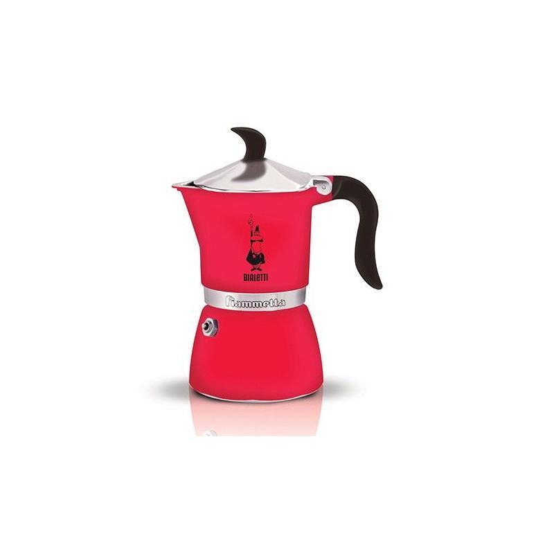 Bialetti Fiammetta lazac színű kotyogó kávéfőző 3 csésze kávéra