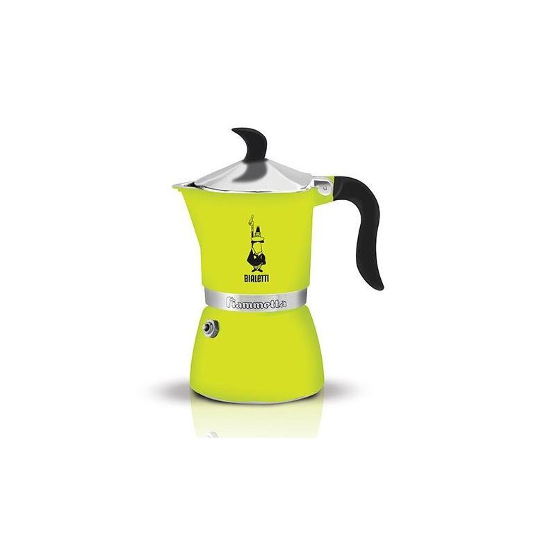 Bialetti Fiammetta zöld színű kotyogó kávéfőző 3 csésze kávéra