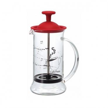 French press Hario Slim Piros (CPSS-2-R)