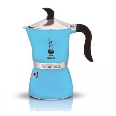 Bialetti Fiammetta 3 Blue Moka Teapot