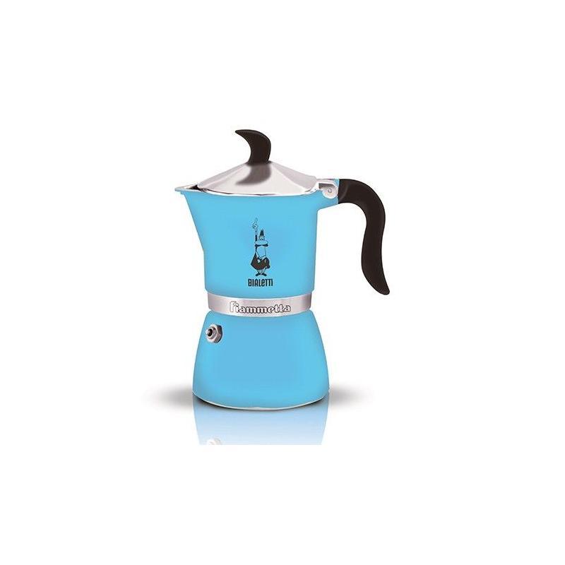 Bialetti Fiammetta Kék Mocha kotyogó kávéfőző 3 csésze kávéra