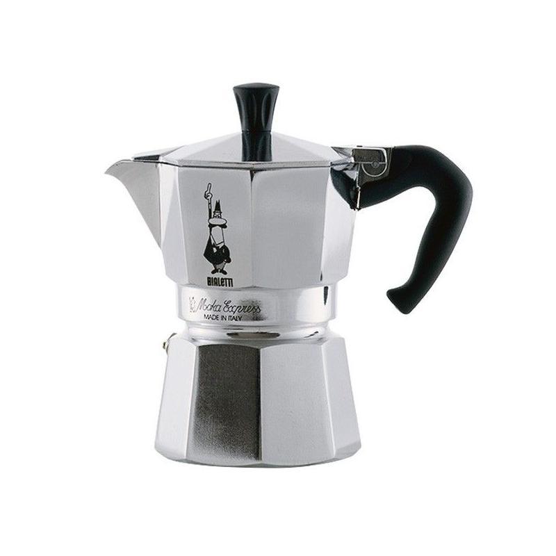 Bialetti Moka Express kotyogó kávéfőző 1 csésze kávéra