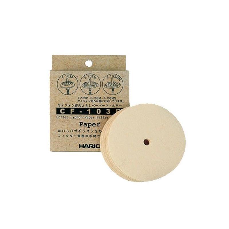 Papírszűrők a vákuumos edényhez Hario (CF-103E)
