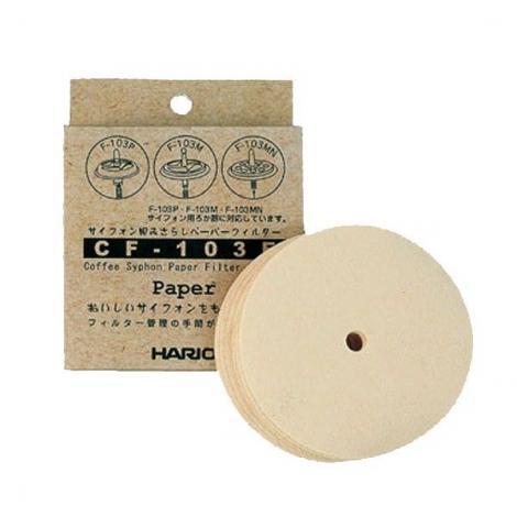 Papierové filtre pre vacuum pot Hario (CF-103E)