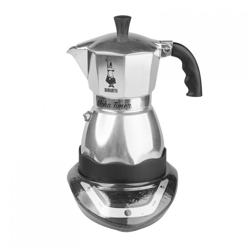 Bialetti Moka Timer (3 csészés) elektromos Mocha kotyogó kávéfőző