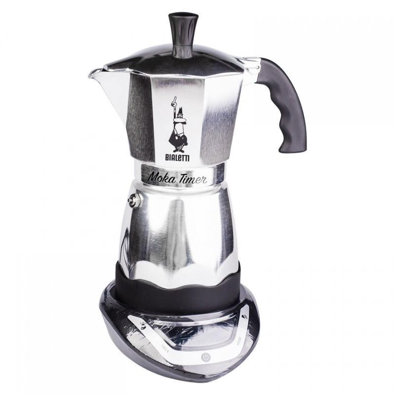 Bialetti Moka Timer (6 csészés) elektromos Mocha kotyogó kávéfőző