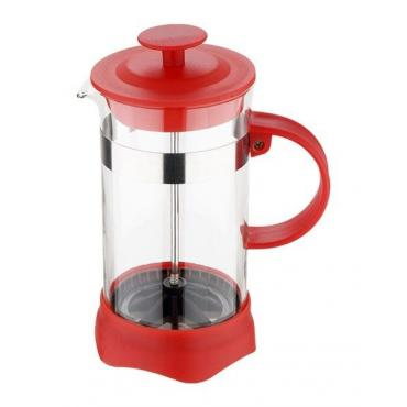 French press kettle 600ml (red)