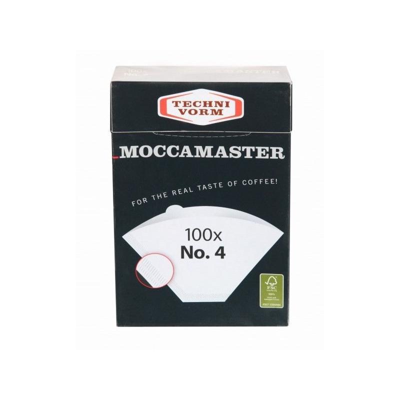 Papírszűrők Moccamaster 4-es mérete, 100db