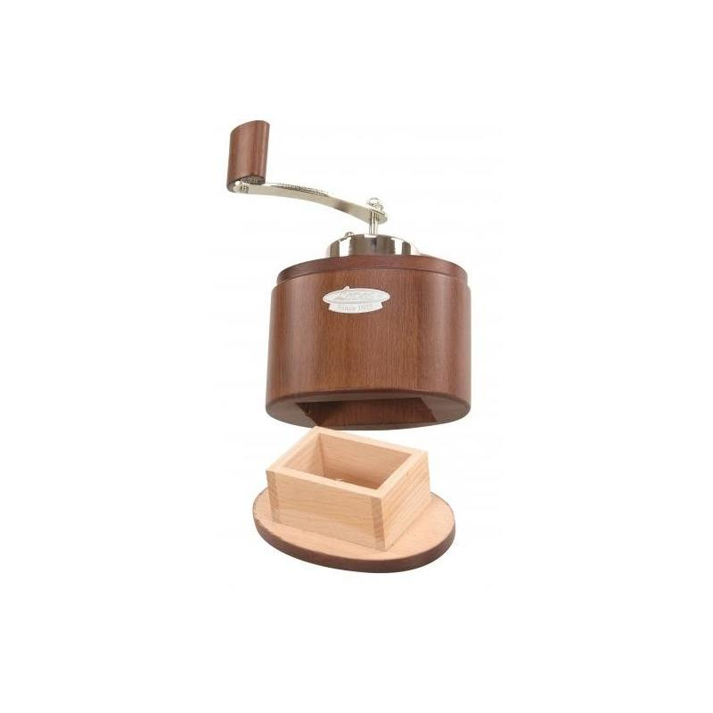 Coffee Grinder - Lodos Oval (Brown)