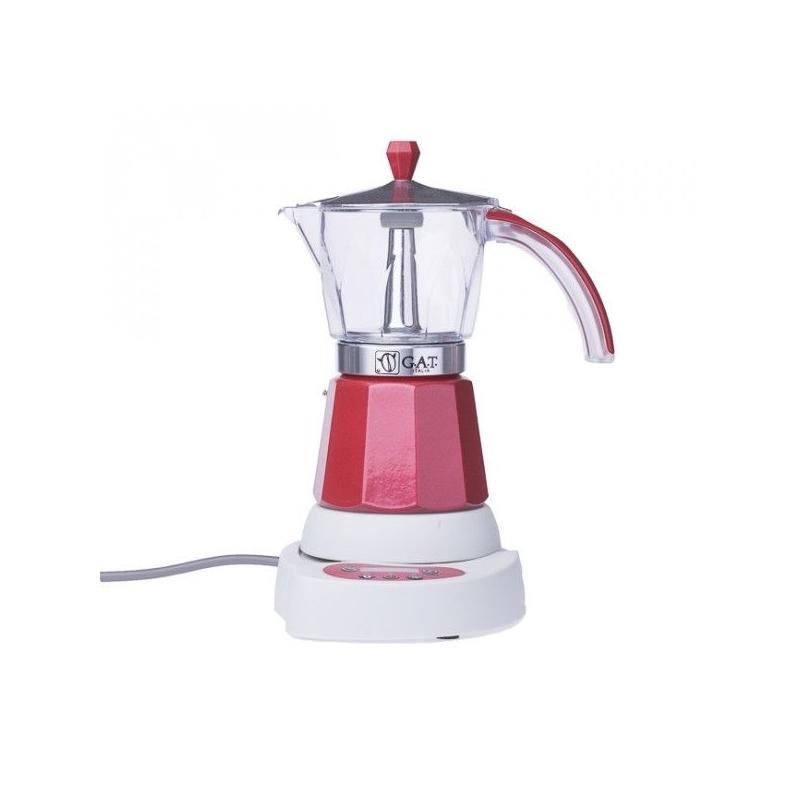 GAT Vintage Elektromos Mocha 4-6 csészés kotyogó kávéfőző, szürke