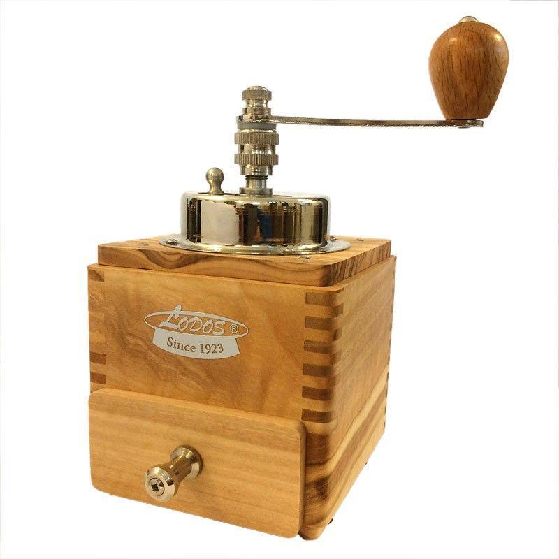 Kávédaráló - Lodos 1945 Lux (olíva)
