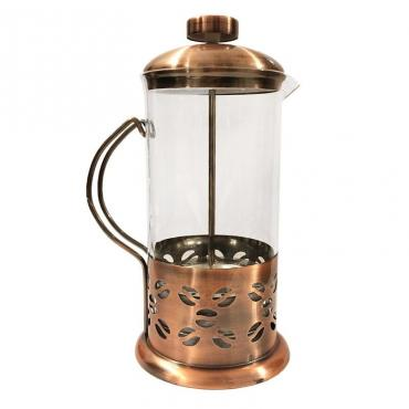 French press 600ml Kaffia Gourmet copper