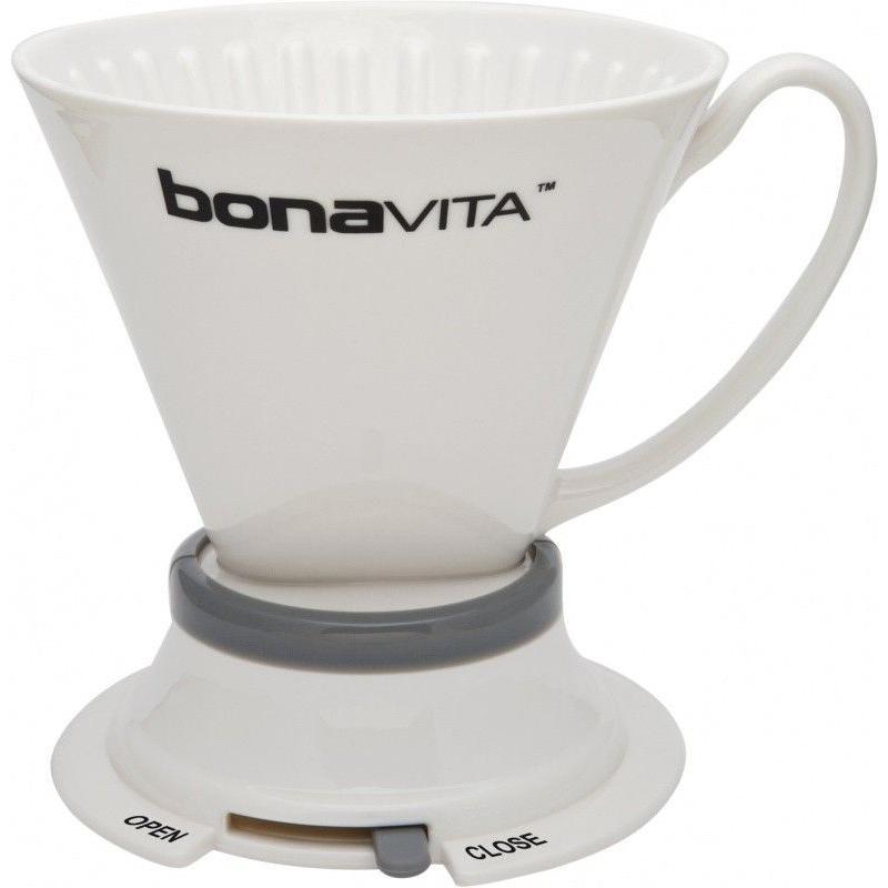 Bonavita kerámia dripper, szeleppel