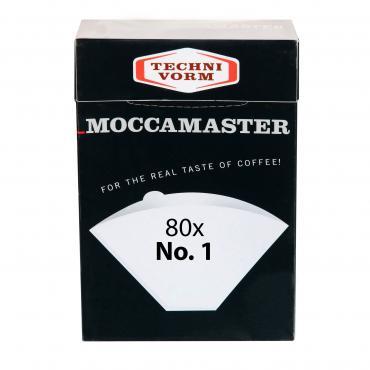 Papírszűrők Moccamaster 1 méret 80db