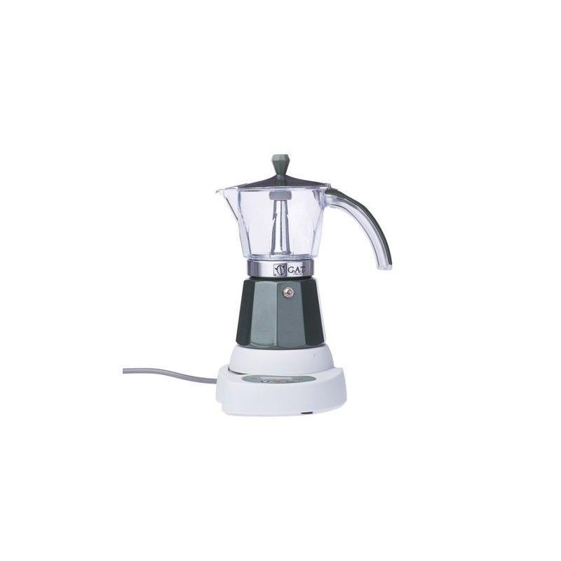 GAT Vintage Elektromos Mocha 4-6 csészés kotyogó kávéfőző, zöld