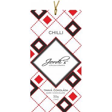Čokoláda Jordis Spiced Chilli 50g
