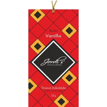 Čokoláda Jordis Rustic Vanilla 50g