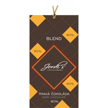 Čokoláda Jordis Blend 80% 50g