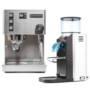 Kávovar + mlýnek Rancilio + 1 kg kávy Brasil Santos