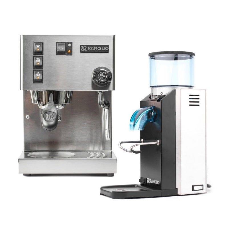 Coffee maker + Rancilio mill + 1 kg of Brasil Santos coffee